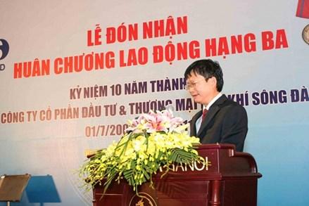 Khởi tố bị can, bắt tạm giam nguyên Chủ tịch HĐQT Công ty CP Đầu tư và Thương mại Dầu khí Sông Đà