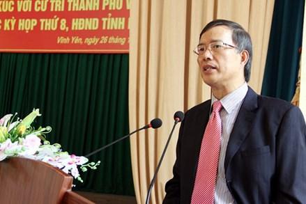 Những sai phạm khiến ông Phạm Văn Vọng bị cách chức