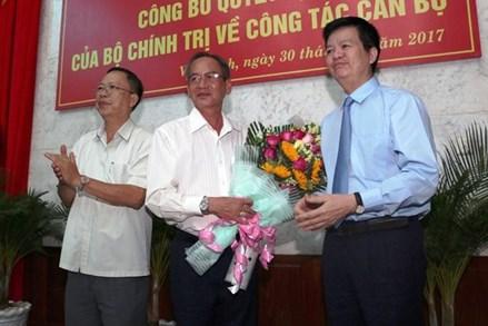 Công bố quyết định của Bộ Chính trị về công tác cán bộ tại Hậu Giang