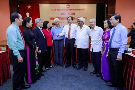 Chỉ thị của Ban Bí thư về lãnh đạo Đại hội Mặt trận Tổ quốc Việt Nam các cấp