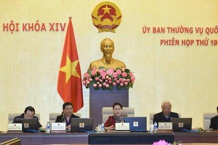 Công bố 6 Nghị quyết của Ủy ban Thường vụ Quốc hội XIV