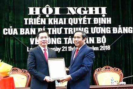 Lạng Sơn triển khai quyết định của Ban Bí thư Trung ương Đảng về công tác cán bộ