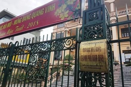 Tạm đình chỉ công tác bảy cán bộ Kho bạc Nhà nước TP Nam Định