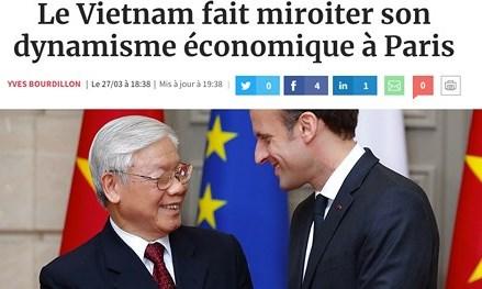 Báo Pháp đánh giá tích cực chuyến thăm Pháp của Tổng Bí thư