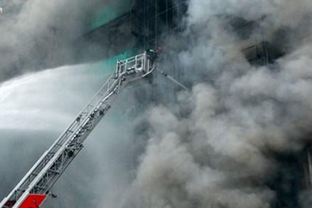 Thang chữa cháy của Hà Nội đến tầng bao nhiêu của chung cư?