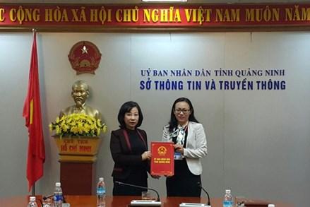 Bổ nhiệm bà Lê Ngọc Hân giữ chức Phó Giám đốc Phụ trách Sở TT&TT tỉnh Quảng Ninh