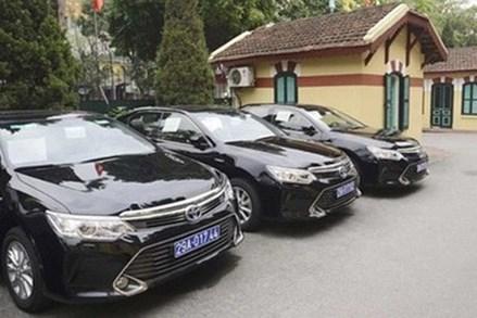 Sỹ quan cấp Thượng tướng được mua ôtô công giá tối đa 1,1 tỷ đồng