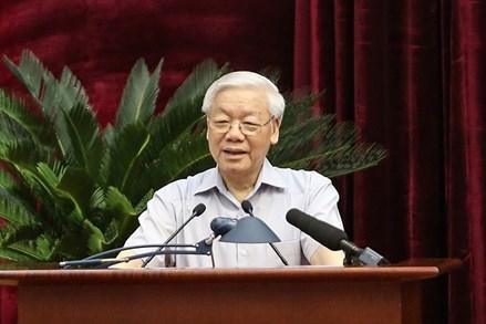 """Tổng Bí thư Nguyễn Phú Trọng: Mục đích kỷ luật là để """"trị bệnh cứu người"""""""