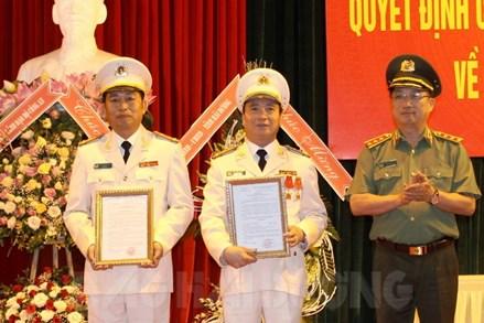 Đại tá Vũ Thanh Chương được bổ nhiệm làm Giám đốc Công an tỉnh Hải Dương