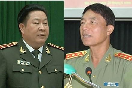 Cách chức Thứ trưởng với ông Bùi Văn Thành, xoá chức của ông Trần Việt Tân