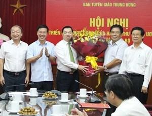 Trao các quyết định nhân sự của Ban Bí thư Trung ương Đảng