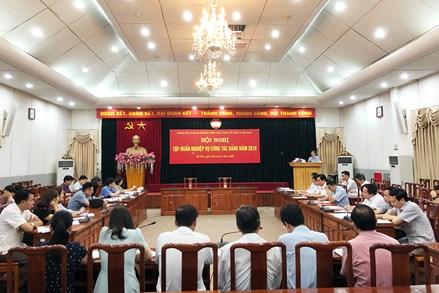 Đảng bộ Mặt trận Trung ương tập huấn nghiệp vụ công tác Đảng