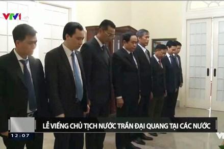 Đồng chí Trần Thanh Mẫn viếng Chủ tịch nước Trần Đại Quang tại Cuba