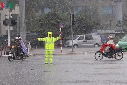 Bắc Bộ có mưa rải rác
