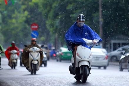 Hà Nội có mưa rào rải rác