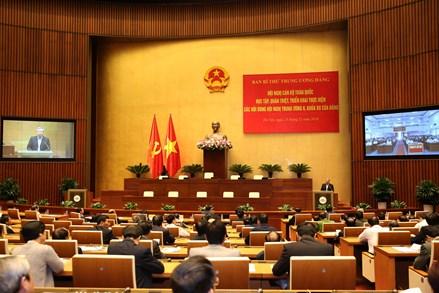 Tổ chức Hội nghị toàn quốc quán triệt Nghị quyết Trung ương 8 khóa XII