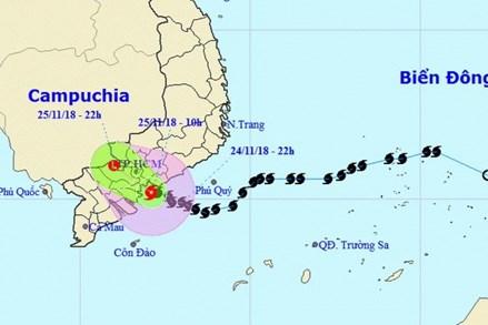Thông tin mới nhất về cơn bão số 9 đổ bộ vào đất liền