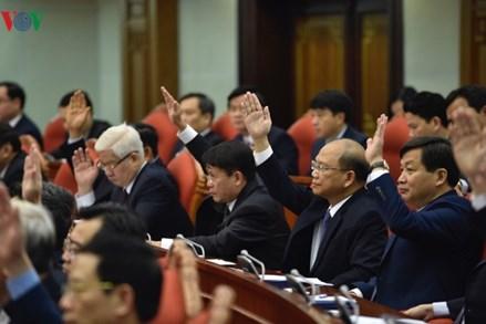Hình ảnh phiên khai mạc Hội nghị Trung ương 9 khóa XII