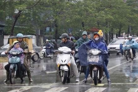 Hà Nội bước vào những ngày mưa rét