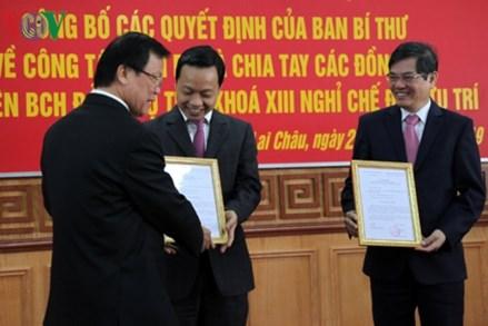 Thứ trưởng Bộ Tư pháp làm Phó Bí thư Tỉnh ủy Lai Châu
