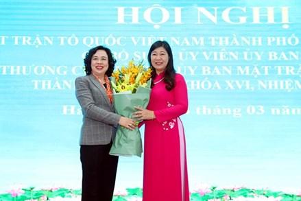 Thành phố Hà Nội có nữ Chủ tịch Ủy ban MTTQ