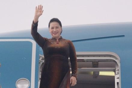 Chủ tịch Quốc hội Nguyễn Thị Kim Ngân đến Vương quốc Maroc