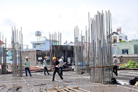 Có được điều chỉnh giấy phép xây dựng khi đang thi công?