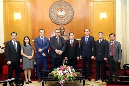 MTTQ Việt Nam luôn ủng hộ quan hệ hữu nghị, hợp tác giữa Việt Nam và Phần Lan