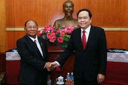 Củng cố mối quan hệ hữu nghị, láng giềng tốt đẹp giữa Việt Nam - Campuchia