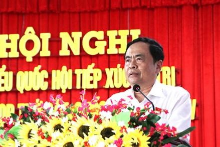 Chủ tịch Trần Thanh Mẫn tiếp xúc cử tri tại Cần Thơ