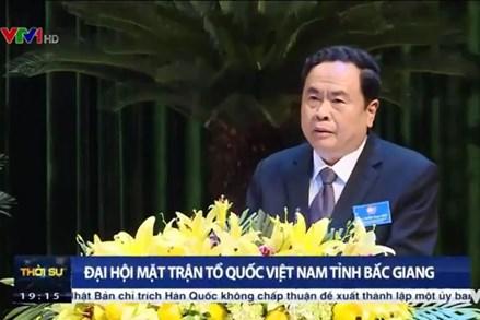 Đại hội Mặt trận Tổ quốc tỉnh Bắc Giang