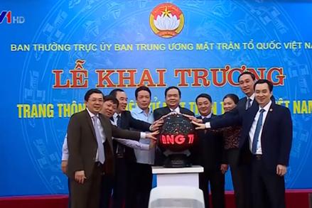 Bổ nhiệm ông Vũ Văn Tiến làm Trưởng ban Biên tập Trang thông tin điện tử MTTQ Việt Nam