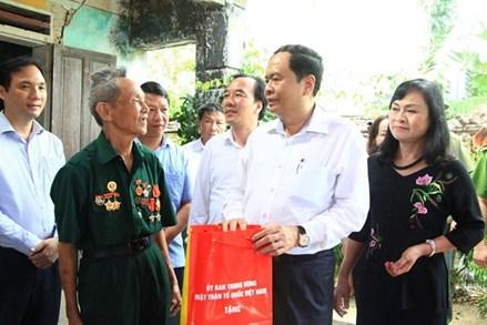 Thực hiện tốt hơn nữa chính sách đối với thương binh, gia đình liệt sĩ và người có công với cách mạng
