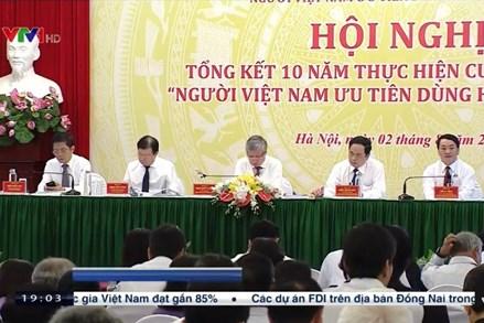 Tự hào khi hàng Việt vươn ra nước ngoài