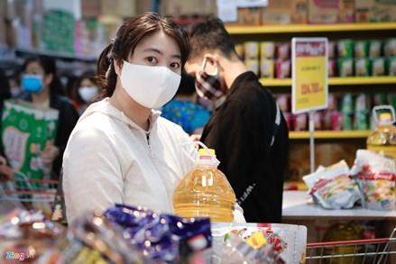 Hà Nội có đủ hàng hóa kể cả nếu 1.000 người nhiễm bệnh