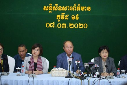 Xác nhận người Campuchia đầu tiên nhiễm Covid-19