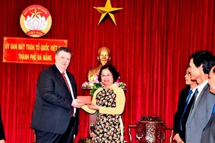 Tân Tổng Lãnh sự Nga tại Đà Nẵng chào xã giao Ủy ban MTTQ TP Đà Nẵng