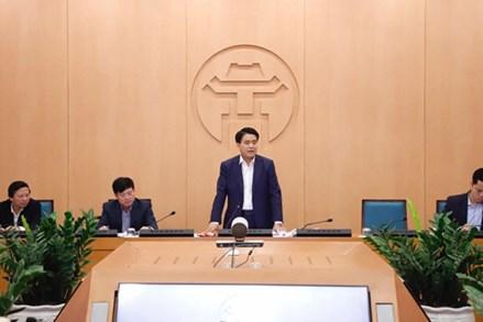Chủ tịch UBND thành phố Hà Nội khuyến khích dân không ra đường, làm việc qua mạng