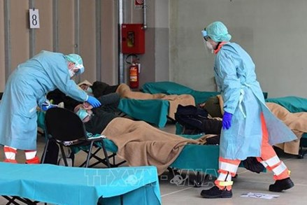 Số ca tử vong trong ngày tại Italy cao hơn cả Vũ Hán thời đỉnh dịch