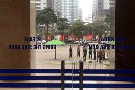 Hà Nội phong tỏa cả tòa nhà 34T Hoàng Đạo Thúy vì có 1 người nghi mắc Covid-19