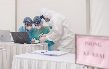 Việt Nam ghi nhận 239 ca mắc Covid-19, thêm 1 ca mới tại BV Bạch Mai