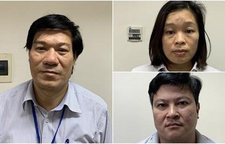 Khởi tố, bắt tạm giam Giám đốc CDC Hà Nội và 6 đồng phạm