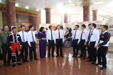 Chủ tịch Trần Thanh Mẫn dự Hội nghị gặp mặt, tuyên dương Người làm báo tiêu biểu