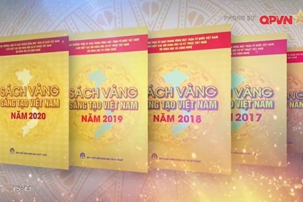 Sách vàng Sáng tạo Việt Nam - Tôn vinh trí tuệ Việt Nam