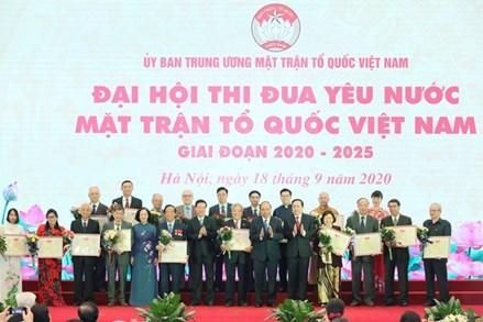 Đại hội Thi đua yêu nước MTTQ Việt Nam