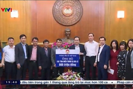 MTTQ Việt Nam tiếp nhận ủng hộ từ nhiều cơ quan, doanh nghiệp hỗ trợ đồng bào Miền Trung