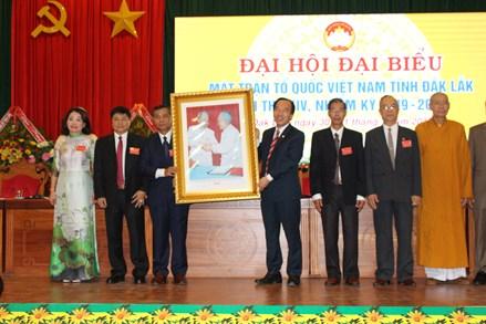 Bà H'Kim Hoa Byă được cử giữ chức Chủ tịch Ủy ban MTTQ Việt Nam tỉnh Đắk Lắk