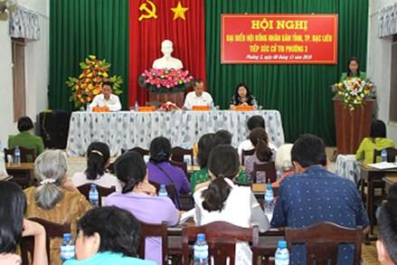 Ủy ban MTTQ Việt Nam TP. Bạc Liêu, tỉnh Bạc Liêu: Chủ động thực hiện giám sát, phản biện