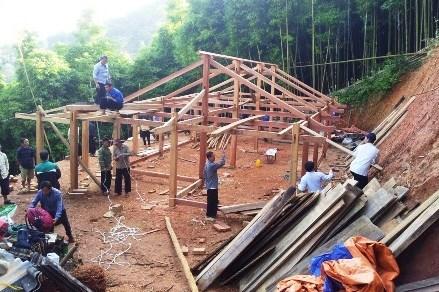 Mặt trận Tổ quốc huyện Trạm Tấu (Yên Bái): Tích cực vận động nhân dân xây dựng nông thôn mới