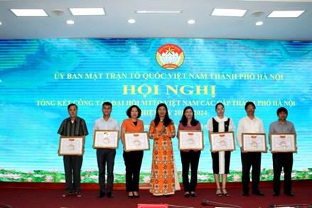 Hội nghị Ủy ban MTTQ Việt Nam TP Hà Nội lần thứ II, nhiệm kỳ 2019-2024